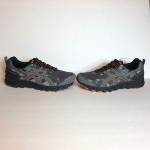 Asics Shoes - Asics Gel Scram 4 Camo Grey Trail Running Sneakers